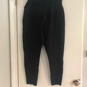 Gap Full Panel Maternity Ponte leggings - XL Black